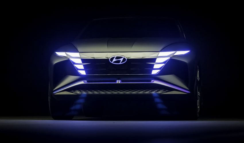 Hyundai Vision T revealed, previews next-gen Tucson Image #1049105
