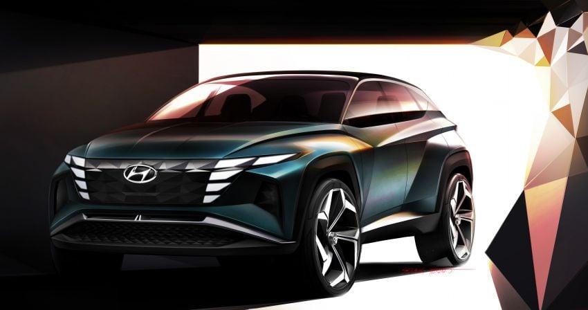 Hyundai Vision T revealed, previews next-gen Tucson Image #1048713