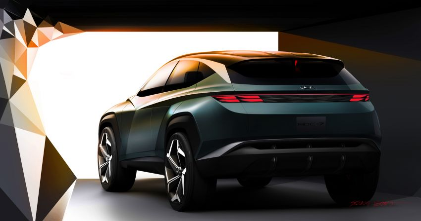 Hyundai Vision T revealed, previews next-gen Tucson Image #1048716