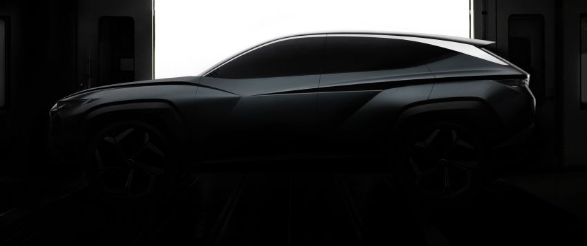 Hyundai Vision T plug-in hybrid SUV concept teased ahead of LA debut – preview of next-gen Tucson? Image #1045626