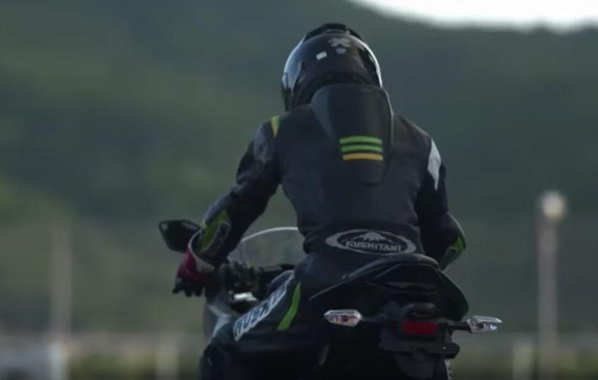 Kawasaki sah sedang bangunkan motosikal elektrik Image #1045481