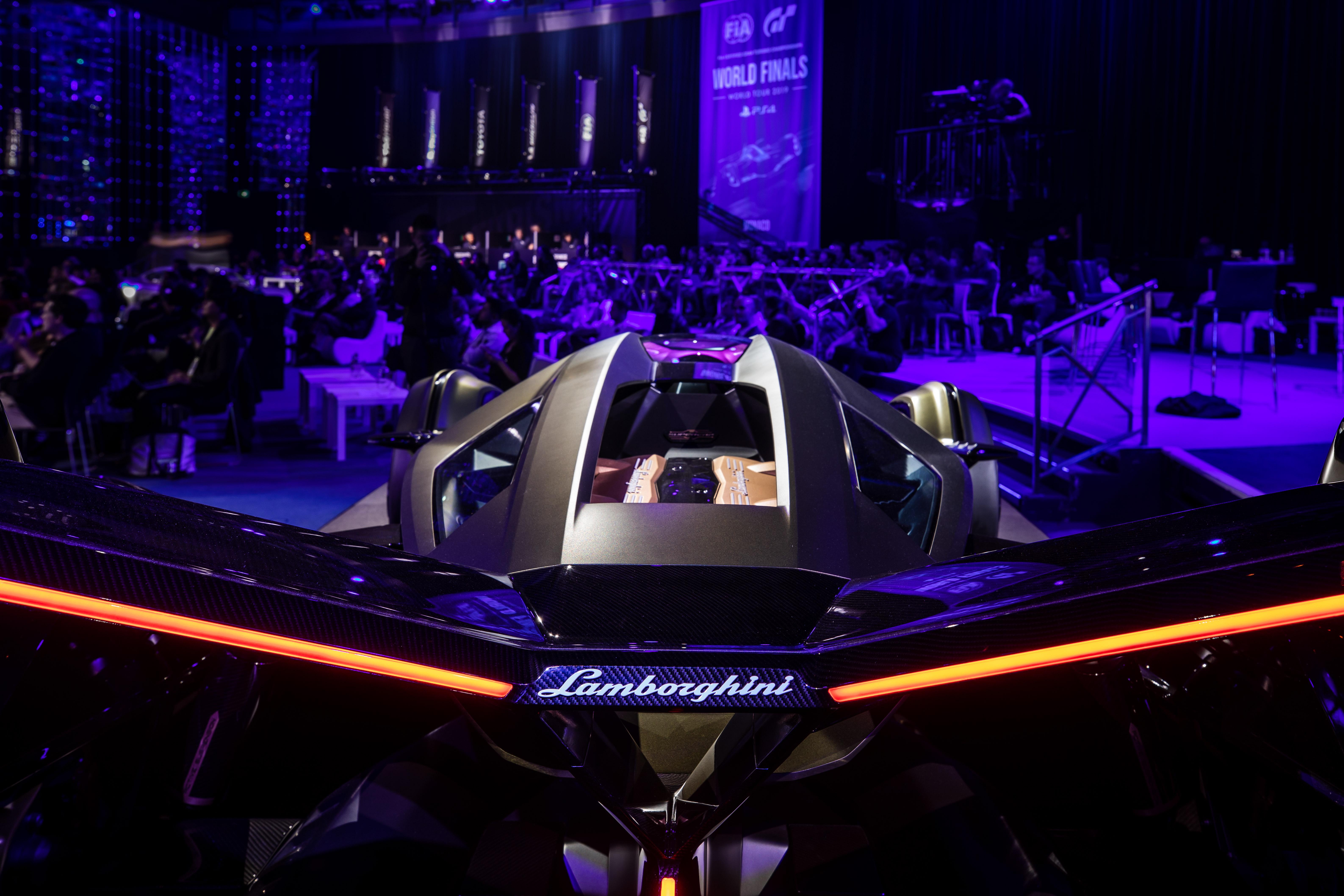 Lamborghini Lambo V12 Vision Gran Turismo revealed Paul ...