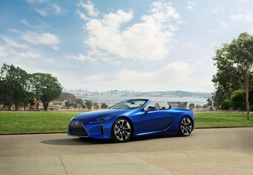 Lexus LC 500 Convertible – open-top stunner debuts Image #1047767