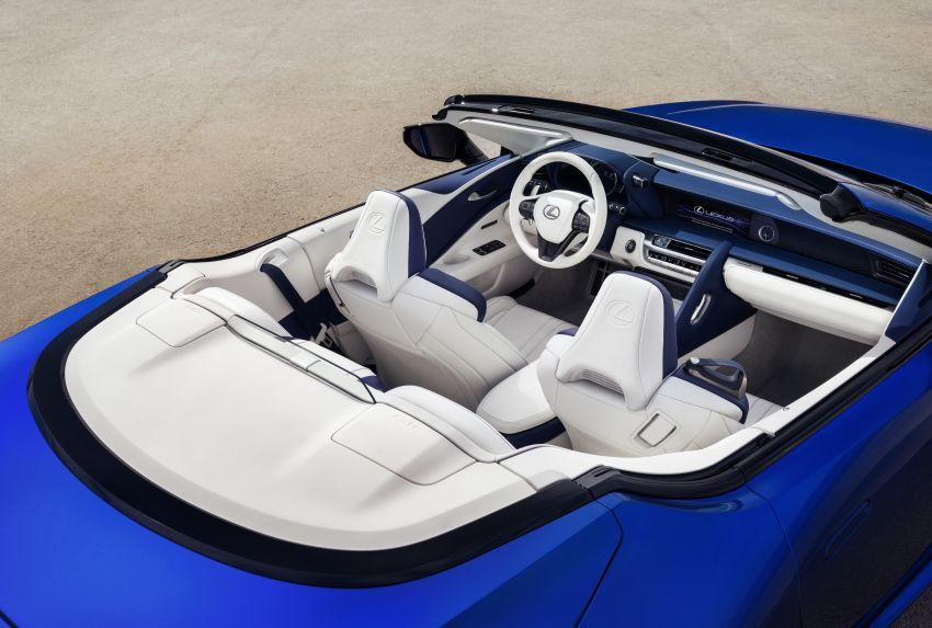 Lexus LC 500 Convertible – open-top stunner debuts Image #1047868