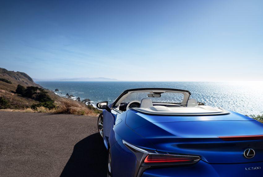 Lexus LC 500 Convertible – open-top stunner debuts Image #1047869