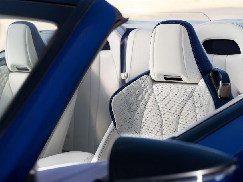 Lexus LC 500 Convertible – open-top stunner debuts Image #1047871