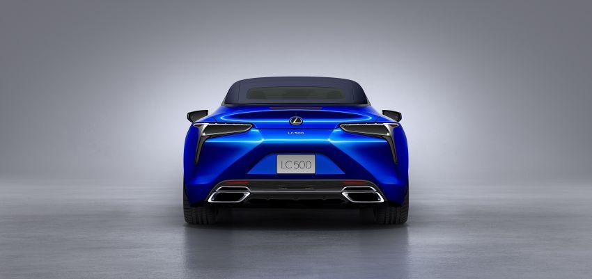 Lexus LC 500 Convertible – open-top stunner debuts Image #1047887