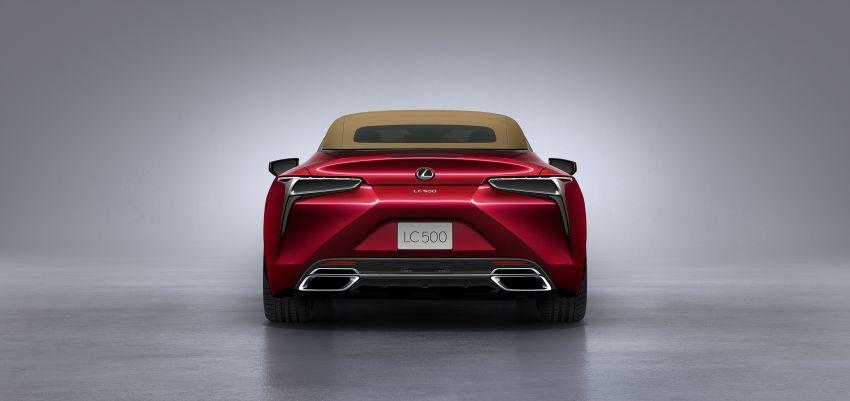 Lexus LC 500 Convertible – open-top stunner debuts Image #1047889