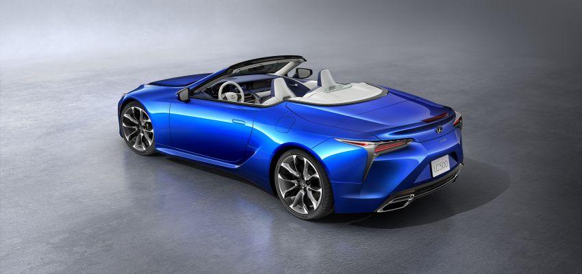 Lexus LC 500 Convertible – open-top stunner debuts Image #1047894