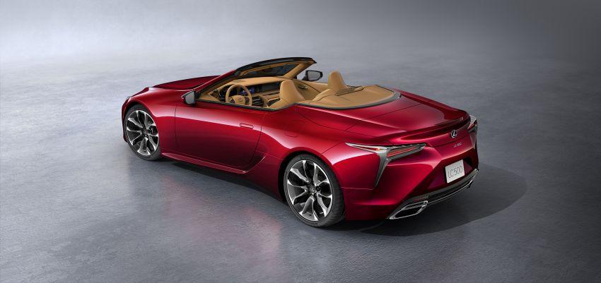 Lexus LC 500 Convertible – open-top stunner debuts Image #1047896
