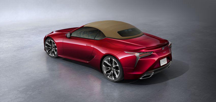 Lexus LC 500 Convertible – open-top stunner debuts Image #1047897