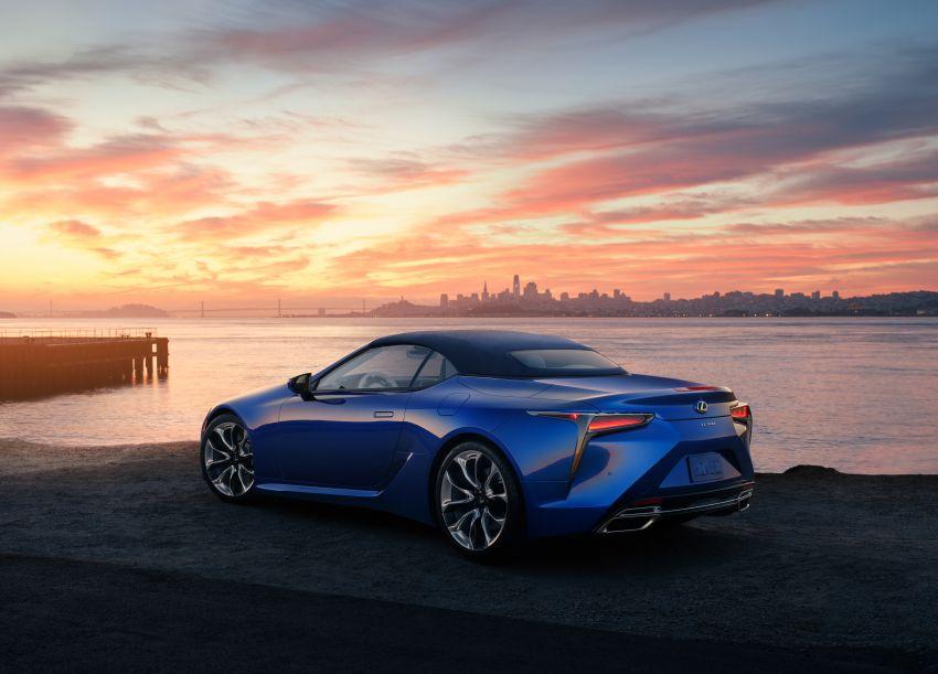 Lexus LC 500 Convertible – open-top stunner debuts Image #1047788
