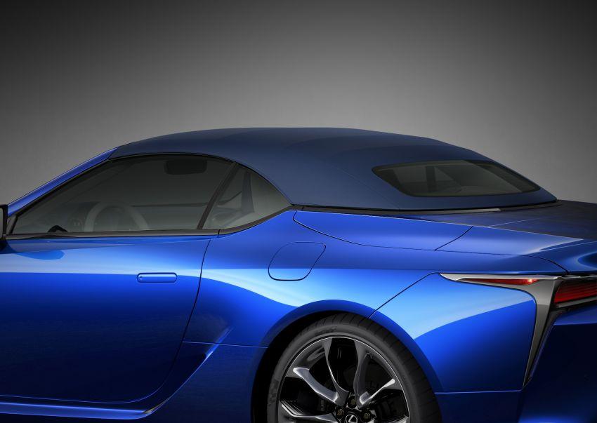 Lexus LC 500 Convertible – open-top stunner debuts Image #1047901