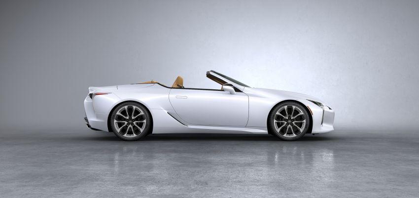 Lexus LC 500 Convertible – open-top stunner debuts Image #1047902