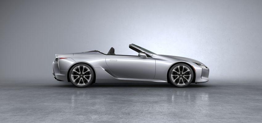 Lexus LC 500 Convertible – open-top stunner debuts Image #1047904