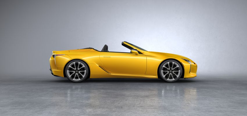 Lexus LC 500 Convertible – open-top stunner debuts Image #1047910