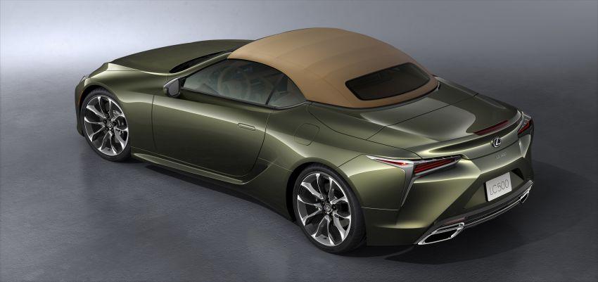 Lexus LC 500 Convertible – open-top stunner debuts Image #1047915