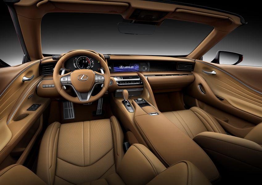 Lexus LC 500 Convertible – open-top stunner debuts Image #1047921