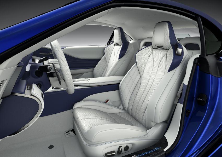 Lexus LC 500 Convertible – open-top stunner debuts Image #1047923