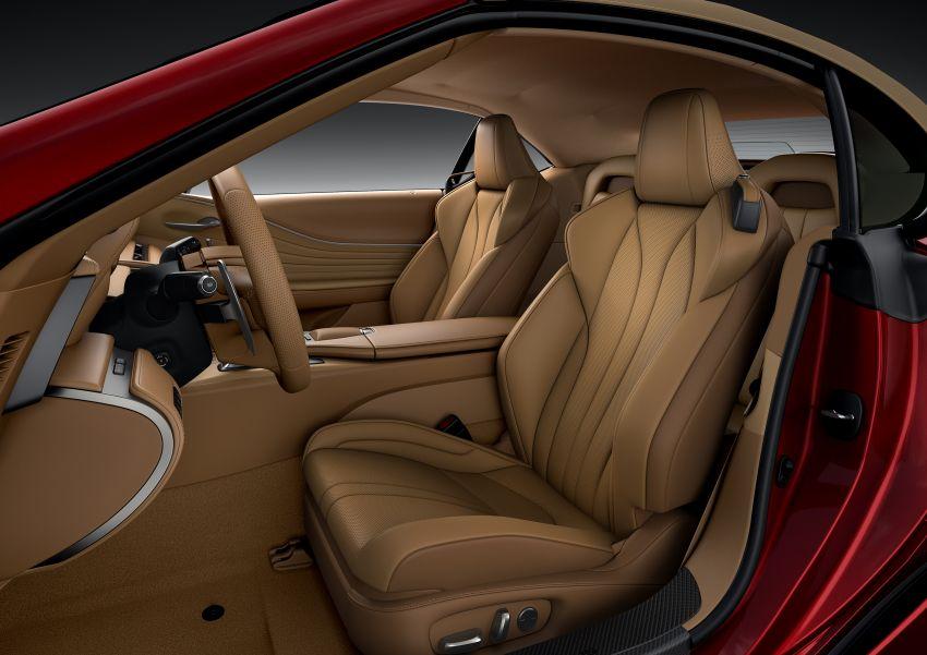 Lexus LC 500 Convertible – open-top stunner debuts Image #1047926
