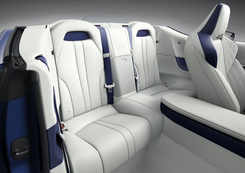 Lexus LC 500 Convertible – open-top stunner debuts Image #1047927