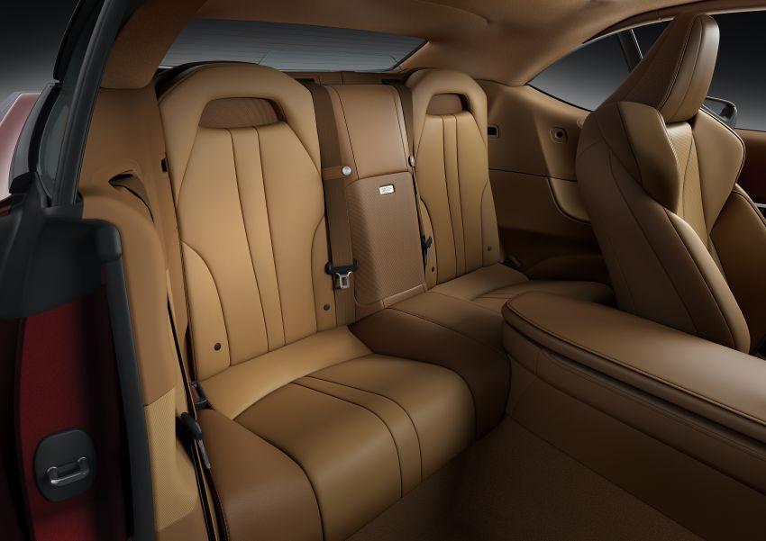 Lexus LC 500 Convertible – open-top stunner debuts Image #1047931