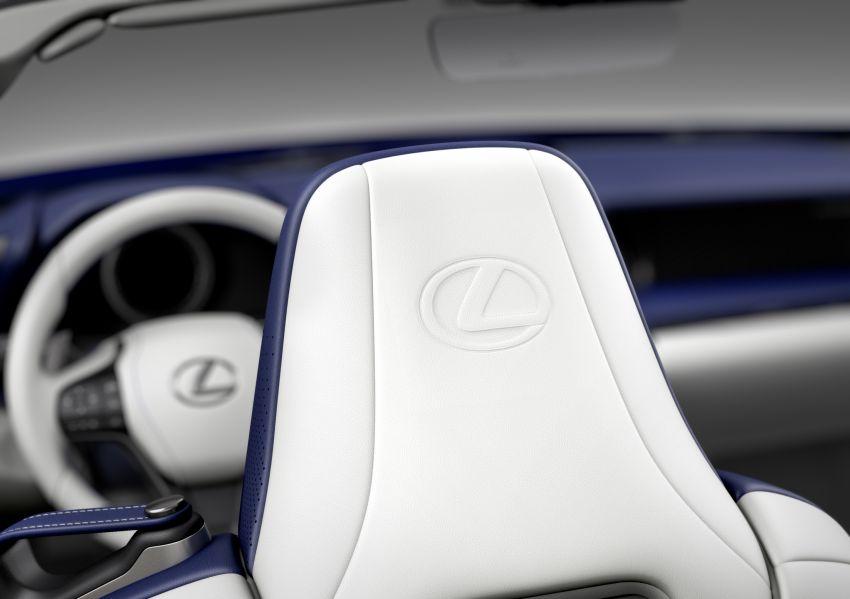 Lexus LC 500 Convertible – open-top stunner debuts Image #1047937