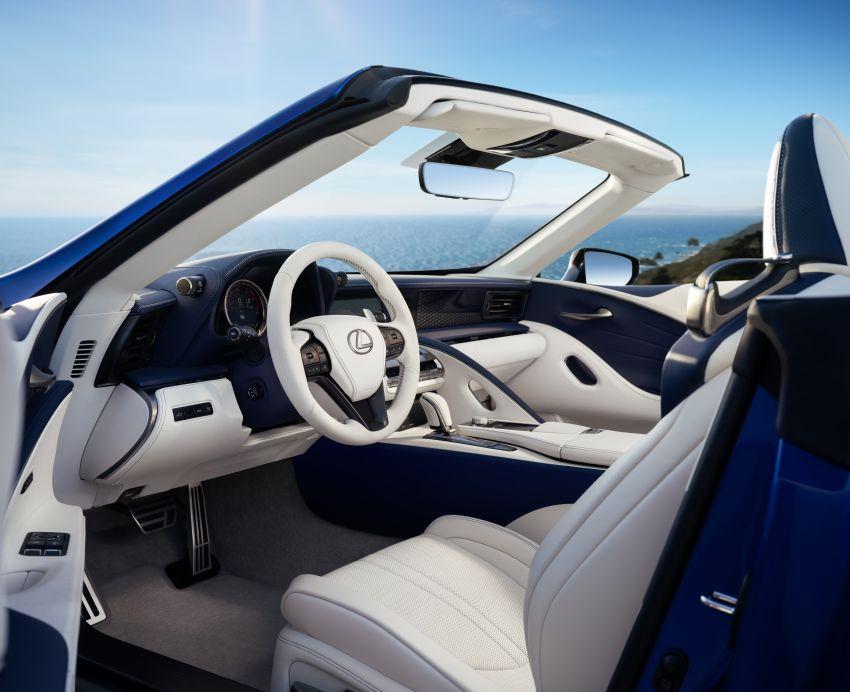 Lexus LC 500 Convertible – open-top stunner debuts Image #1047825