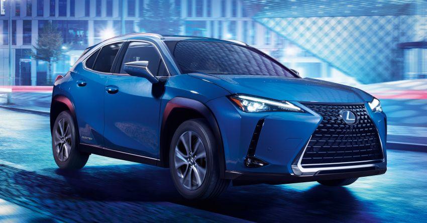 Lexus UX 300e pure EV – 400 km range, 204 PS/300 Nm, 'paddle-shift' braking regen, Active Sound Control Image #1049779