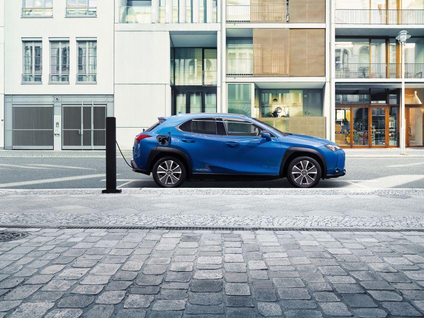 Lexus UX 300e pure EV – 400 km range, 204 PS/300 Nm, 'paddle-shift' braking regen, Active Sound Control Image #1049780