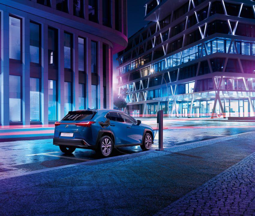 Lexus UX 300e pure EV – 400 km range, 204 PS/300 Nm, 'paddle-shift' braking regen, Active Sound Control Image #1049783