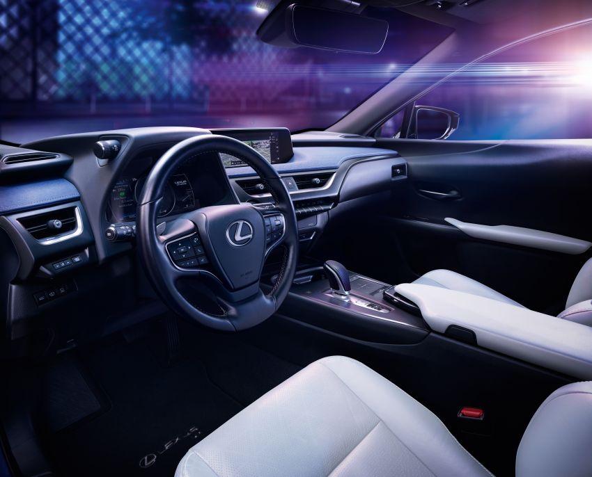 Lexus UX 300e pure EV – 400 km range, 204 PS/300 Nm, 'paddle-shift' braking regen, Active Sound Control Image #1049784