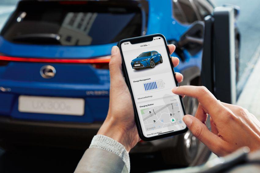 Lexus UX 300e pure EV – 400 km range, 204 PS/300 Nm, 'paddle-shift' braking regen, Active Sound Control Image #1049785