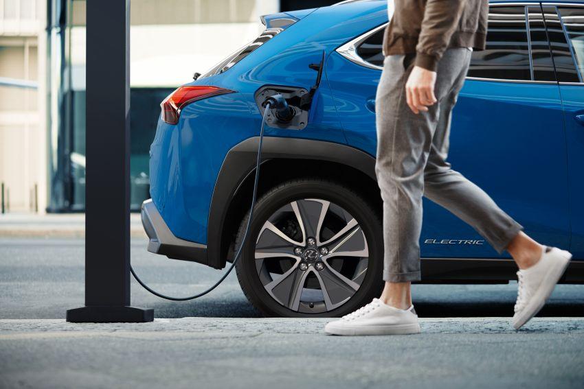 Lexus UX 300e pure EV – 400 km range, 204 PS/300 Nm, 'paddle-shift' braking regen, Active Sound Control Image #1049789