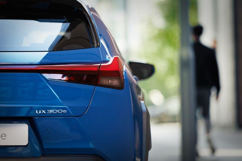 Lexus UX 300e pure EV – 400 km range, 204 PS/300 Nm, 'paddle-shift' braking regen, Active Sound Control Image #1049790