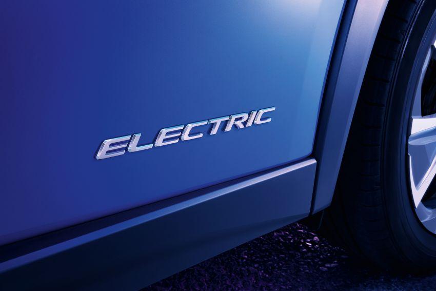 Lexus UX 300e pure EV – 400 km range, 204 PS/300 Nm, 'paddle-shift' braking regen, Active Sound Control Image #1049791