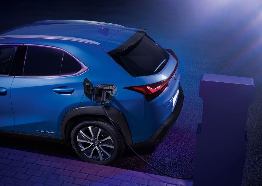 Lexus UX 300e pure EV – 400 km range, 204 PS/300 Nm, 'paddle-shift' braking regen, Active Sound Control Image #1049795