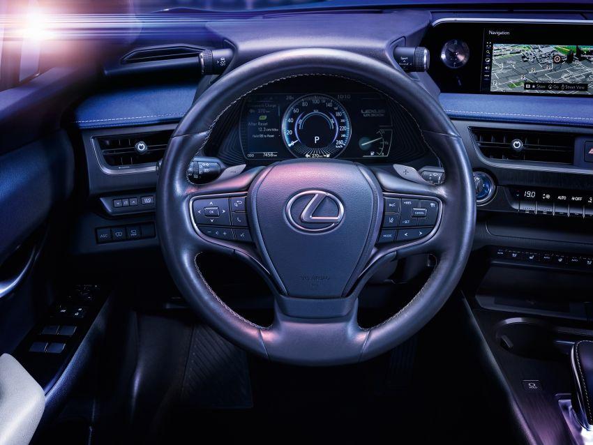 Lexus UX 300e pure EV – 400 km range, 204 PS/300 Nm, 'paddle-shift' braking regen, Active Sound Control Image #1049796