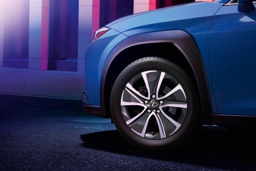 Lexus UX 300e pure EV – 400 km range, 204 PS/300 Nm, 'paddle-shift' braking regen, Active Sound Control Image #1049798