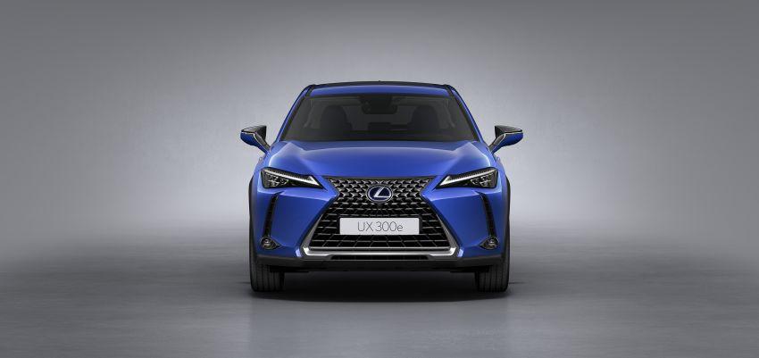 Lexus UX 300e pure EV – 400 km range, 204 PS/300 Nm, 'paddle-shift' braking regen, Active Sound Control Image #1049801