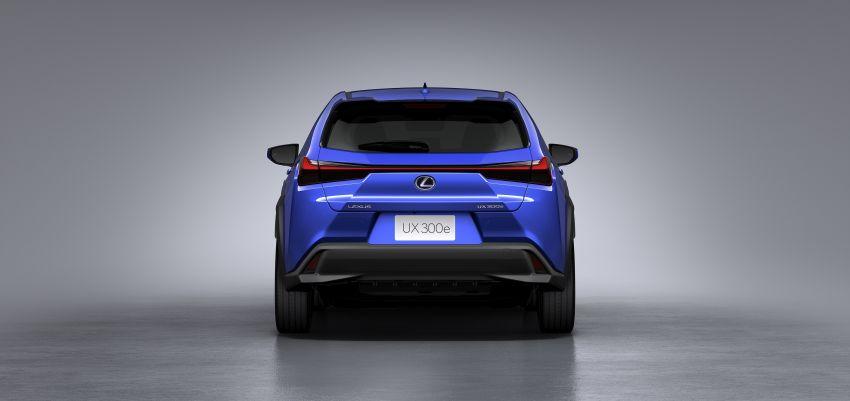 Lexus UX 300e pure EV – 400 km range, 204 PS/300 Nm, 'paddle-shift' braking regen, Active Sound Control Image #1049802