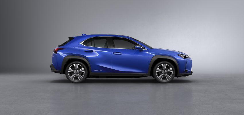 Lexus UX 300e pure EV – 400 km range, 204 PS/300 Nm, 'paddle-shift' braking regen, Active Sound Control Image #1049803