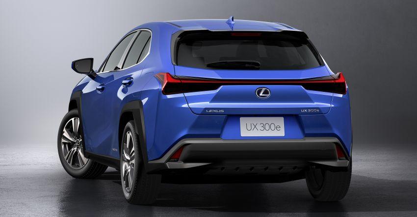 Lexus UX 300e pure EV – 400 km range, 204 PS/300 Nm, 'paddle-shift' braking regen, Active Sound Control Image #1049807