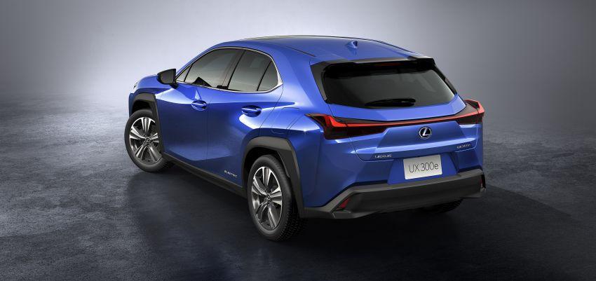 Lexus UX 300e pure EV – 400 km range, 204 PS/300 Nm, 'paddle-shift' braking regen, Active Sound Control Image #1049808