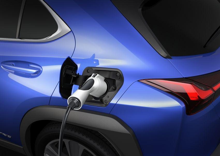 Lexus UX 300e pure EV – 400 km range, 204 PS/300 Nm, 'paddle-shift' braking regen, Active Sound Control Image #1049810