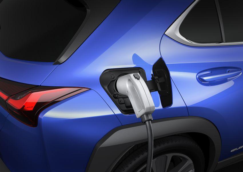 Lexus UX 300e pure EV – 400 km range, 204 PS/300 Nm, 'paddle-shift' braking regen, Active Sound Control Image #1049811