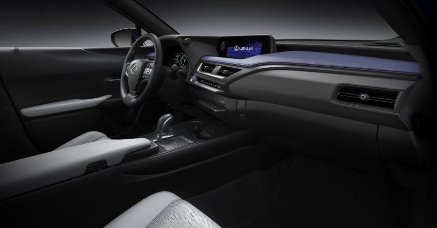 Lexus UX 300e pure EV – 400 km range, 204 PS/300 Nm, 'paddle-shift' braking regen, Active Sound Control Image #1049812