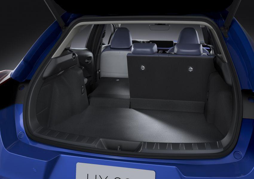 Lexus UX 300e pure EV – 400 km range, 204 PS/300 Nm, 'paddle-shift' braking regen, Active Sound Control Image #1049822