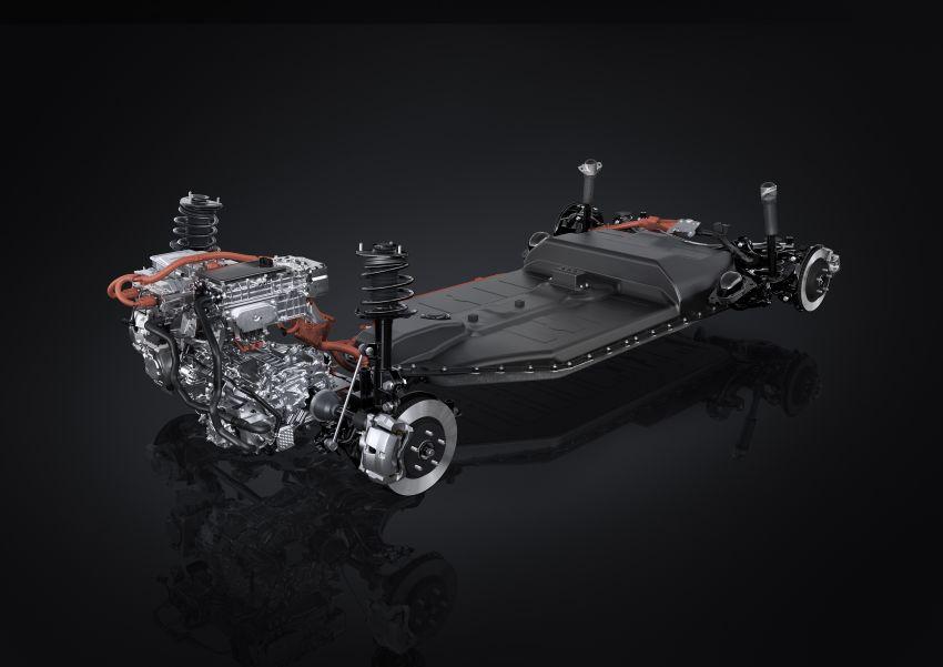 Lexus UX 300e pure EV – 400 km range, 204 PS/300 Nm, 'paddle-shift' braking regen, Active Sound Control Image #1049823