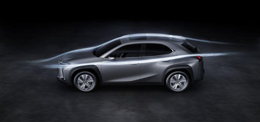 Lexus UX 300e pure EV – 400 km range, 204 PS/300 Nm, 'paddle-shift' braking regen, Active Sound Control Image #1049826